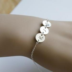 Personalized bracelet,monogram brac..