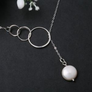 Sterling silver Trio Circle Eternit..