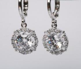 Bridal Earrings Cubi..