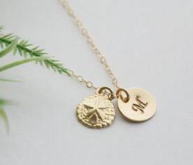 Sand Dollar necklace..