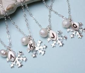 Set of 4,SNOWFLAKE b..