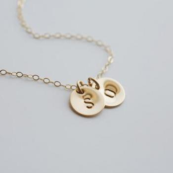 TWO Initial Necklace,14k GOLD Filled,Best Friends,Monogram Necklace,sisterhood,Personalized