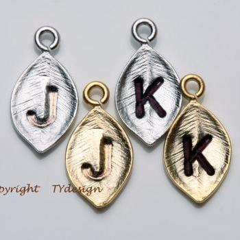 For tydesign Jewelry buyer ONLY,will not be sold separately.Add one gold or silver plated tiny leaf initial
