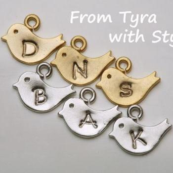 For tydesign Jewelry buyer ONLY,add one tiny bird initial,will not be sold separately.